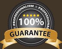 Satisfaction guaranteed badge